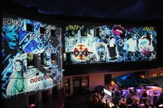 x-dream Stage @Stadtzauber #Visuals #funky #crazy Times Square, Broadway Shows, City