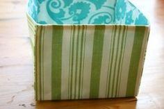 Fabric Basket xprocatscradler