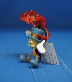 Pinocchio-Jiminy-Cricket-Red-Umbrella-Resin-Christmas-Ornament-2008-Disney-Store