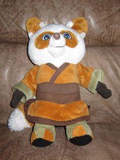 """KUNG FU #PANDA Stuffed Washable MASTER #SHIFU Stuffed TOY Plush 14"""" #Fox #Kohls #KungFuPanda #MasterShifu"""