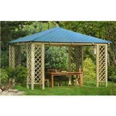 If you re looking to create a unique area in your garden or a looking for a place in your garden to always be dry then the Rimini pavilion should be seriously considered. Perfect for keeping a hot tub or furniture dry and out the weather or the ideal place for a dining table so your never get interrupted by unexpected showers.