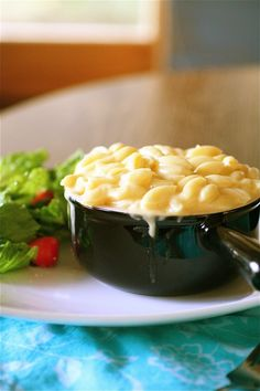 Panera-esque Macaroni and Cheese | The Curvy Carrot Panera-esque Macaroni and Cheese | Healthy and Indulgent Meals Dangling in Front of You