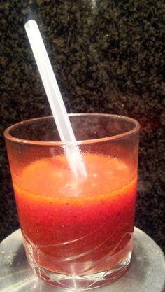 Soupe de fraises IG bas