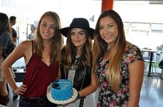 Partiers share their cake creation with Lucy Hale Lucy Hale, Cake Creations, The Duff