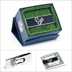 $45.00 NFL Houston Texans Money Clip #moneyclips #walletoutlet