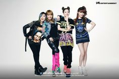 2ne1 fashion | Happiness is not equal for everyone: 2NE1 - Scream Concept Photos