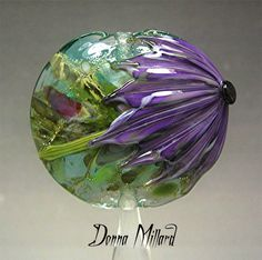 SRA HANDMADE LAMPWORK Focal Bead Donna Millard