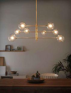 Atom - Aroma                                                                                               #brass lamp #messing lamp   #suspension