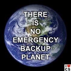 No Backup Planet.