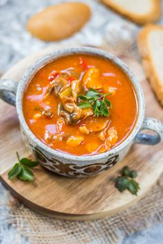 Appetizer Recipes, Soup Recipes, Diet Recipes, Cooking Recipes, Healthy Recipes, Healthy Food Blogs, Healthy Cooking, Homemade Soup, Food Design
