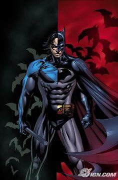Nightwing/Batman.