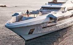 Super yacht of GALACTICA STAR