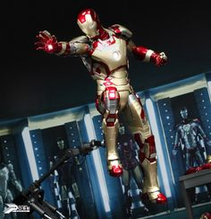 Repin to win a MARK XLII statue from IRON MAN 3! Then click the pic and enter at our site!