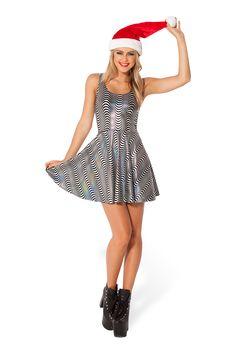 Woo Woo Reversible Skater Dress - LIMITED by Black Milk Clothing $60AUD