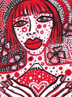 Homenaje a la reina de los lunares YAYOI KUSAMA - http://blogs.infobae.com/colores-de-milagros/