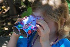 Fairy Watching Binoculars | Familylicious #summerofjoann