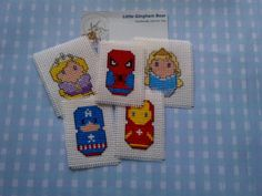 Handmade items and selected craft and planner supplies par LittleGinghamBear Spiderman Spiderman, Handmade Items, Handmade Gifts, Rapunzel, Gingham, Cross Stitch, Bear, Unique Jewelry, Crafts