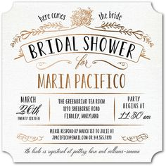 wedding paper divas truly charming bridal shower invitations coupons for this design available
