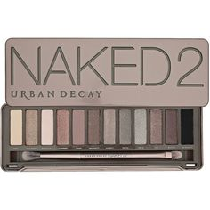 Urban Decay Naked2 ($54) ❤ liked on Polyvore featuring beauty products, makeup, eye makeup, eyeshadow, beauty, cosmetics, fillers, backgrounds, urban decay eye makeup and palette eyeshadow