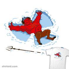 I Wish I Were #angel #devil #ianleino #snow #snowangel