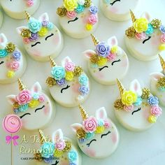 These beauties again  #unicorn #unicornoreos #unicornparty #unicorntheme #unicornfrappuccino #starbucks #fondantroses #oreos #chocolatecoveredoreos #cakepop #cakepops #instacakepop #instacakepops #cakepopstagram #cake #instacake #cookies #sugarcookies #decoratedsugarcookies #decoratedcookies #customoreos #customcookies #tampa #tampabay #tampaevents #tampakids #tampabaker #floridabaker #etsy #wilton