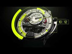 2012 Extraordinary HYT H1 Watch from Baselworld