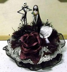 Wedding Cake Topper The Nightmare Before Christmas Jack Sally