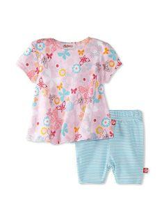 Zutano Baby Girl Infant Summer Dream Swing Tee  Short Set, www.myhabit.com/...