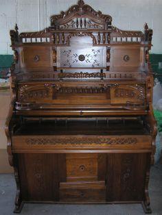 Converted Walnut Pump Organ Hutch Desk