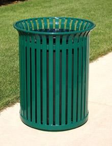 Outside Trash Can Outdoor Cans Compactors Waste Container Bins