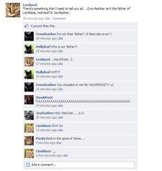 Lies and Secrets...(Warriors Facebook)   Warrior Cats