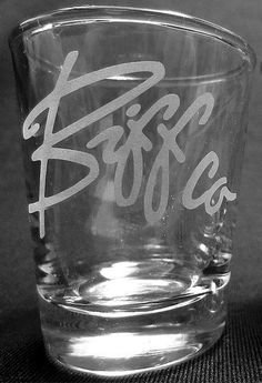 Back to the Future Biff Co Etched Shot Glass by HeroGlass on Etsy