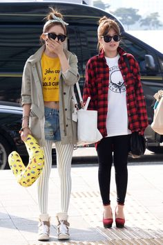 T-ara at Incheon Airport Leaves for M Countdown Nihao Taiwan-April 24, 2013