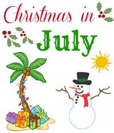 30 Christmas in July Party Ideas | 30th, December and Holidays