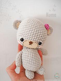 Pattern Free Kuma's Bear Family. Come to know us for our facebook and website. Patrón gratis Familia de Ositos Kuma. Pasa a conocernos por nuestro facebook y sitio web. www.tarturumies.com https://www.facebook.com/Tarturumies/