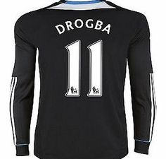 Chelsea Away Shirt Adidas 2011-12 Chelsea L/S Away Shirt (Drogba 11) Buy the brand new Chelsea Long Sleeve away shirt for the 2011/12 Premiership season complete with Didier Drogba shirt printing.The new Chelsea football shirt is manufactured by Adidas and is available http://www.comparestoreprices.co.uk/football-shirts/chelsea-away-shirt-adidas-2011-12-chelsea-l-s-away-shirt-drogba-11-.asp