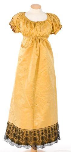 Evening Dress ca.1790-1815