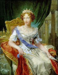 Marie Louise of Habsburg, former Empress of the French, and Duchess of Parma