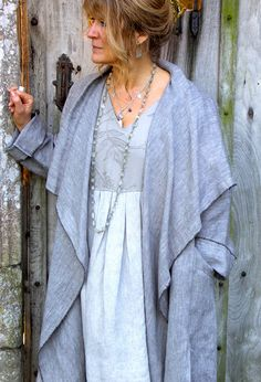 New Edy Jacket in linen £260 (over Ibiza Dress £260).  Nice stylish designs for mature women