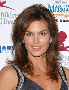 Cindy Crawford Hairstyles - September 1, 2006 - DailyMakeover.com