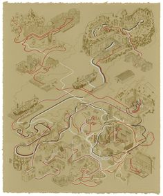 Paths of Raiders by Andrew DeGraff