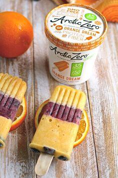 Orange Dream Berry Pops   ARCTIC ZERO   The Pioneer of Fit Frozen Desserts