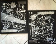 Tableau réalisé au gesso, bombe, modeling past peinture acrylique et marqueur posca  A retrouver et disponible à la vente sur mon site internet : celine-farnier.wix.com/enola69
