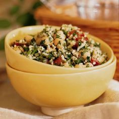 Tabbouleh with Chickpeas recipe