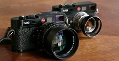 Leica M9's