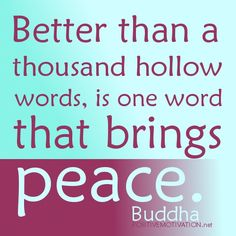 buddhism brings peace - Google Search(R.H) buddism is a religon of peace.
