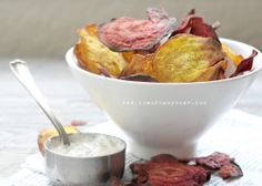 Beet Chips. #paleo, #food, #glutenfree, #recipes