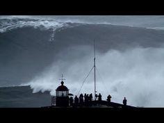 Novo record da maior onde surfada na Nazaré? #Portugal http://youtu.be/YFllZSIBkwc