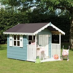 1000 images about playhouse colours on pinterest for Wooden wendy house ideas