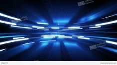 shining blue glow loopable technology background 4k... 動画素材, ムービー映像素材